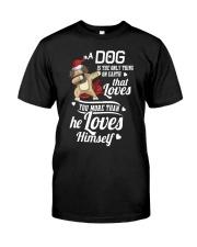 Dog is Best Friend Classic T-Shirt tile