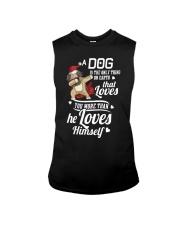 Dog is Best Friend Sleeveless Tee tile