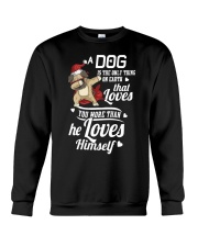 Dog is Best Friend Crewneck Sweatshirt tile