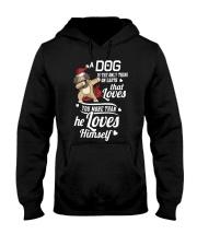 Dog is Best Friend Hooded Sweatshirt front