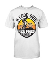Bike and mountain Classic T-Shirt front