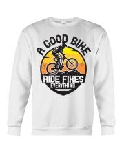 Bike and mountain Crewneck Sweatshirt tile