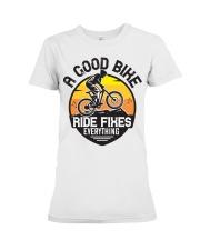 Bike and mountain Premium Fit Ladies Tee tile