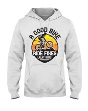 Bike and mountain Hooded Sweatshirt tile