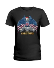 MERRY CHRISTMAS Ladies T-Shirt tile