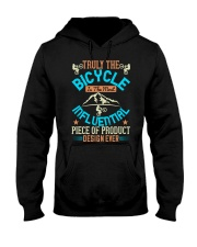 Truly the bicycle Hooded Sweatshirt thumbnail