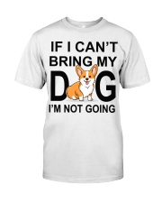 IF I CAN'T BRING MY DOG Premium Fit Mens Tee tile