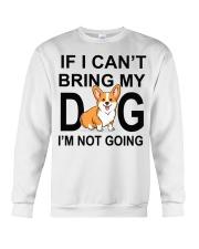 IF I CAN'T BRING MY DOG Crewneck Sweatshirt tile