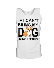 IF I CAN'T BRING MY DOG Unisex Tank tile