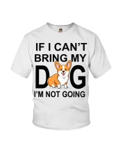 IF I CAN'T BRING MY DOG Youth T-Shirt tile