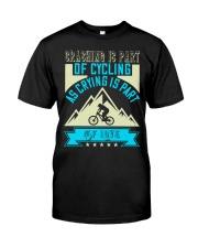 CRASHING IS PART Premium Fit Mens Tee thumbnail