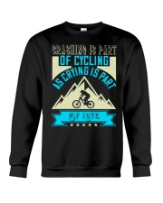 CRASHING IS PART Crewneck Sweatshirt thumbnail