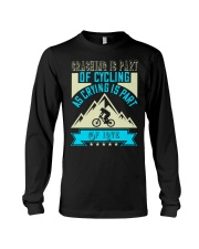 CRASHING IS PART Long Sleeve Tee thumbnail