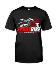 Sport Bike Classic T-Shirt front