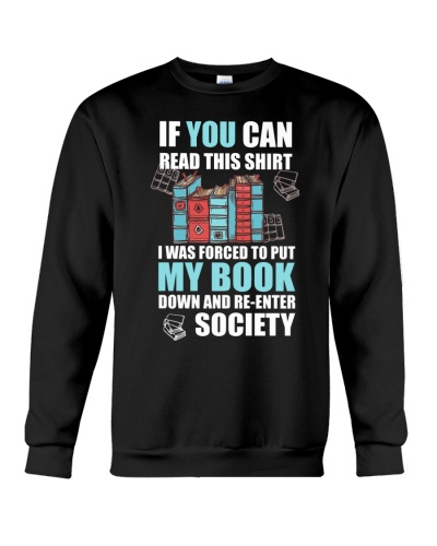 Book Lover Funny Tee