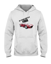 Ac Cobra - Vintage Ford car - Caroll Shelby-Racing Hooded Sweatshirt thumbnail
