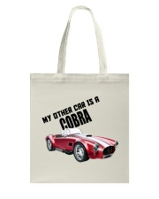 Ac Cobra - Vintage Ford car - Caroll Shelby-Racing Tote Bag front
