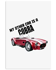 Ac Cobra - Vintage Ford car - Caroll Shelby-Racing 11x17 Poster thumbnail