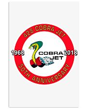 1968-2018 Ford 428 Cobra Jet 50TH Anniversary 11x17 Poster thumbnail