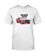 1969 Mustang Boss 302 Classic T-Shirt front