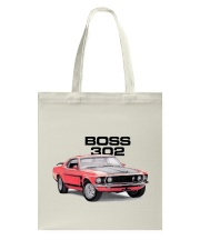 1969 Mustang Boss 302 Tote Bag thumbnail