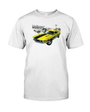 1970 FORD MUSTANG MACH1 ARI PACE CAR Classic T-Shirt front