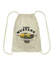 1970 Boss 302-Ford Classic Performance Muscle Car Drawstring Bag thumbnail
