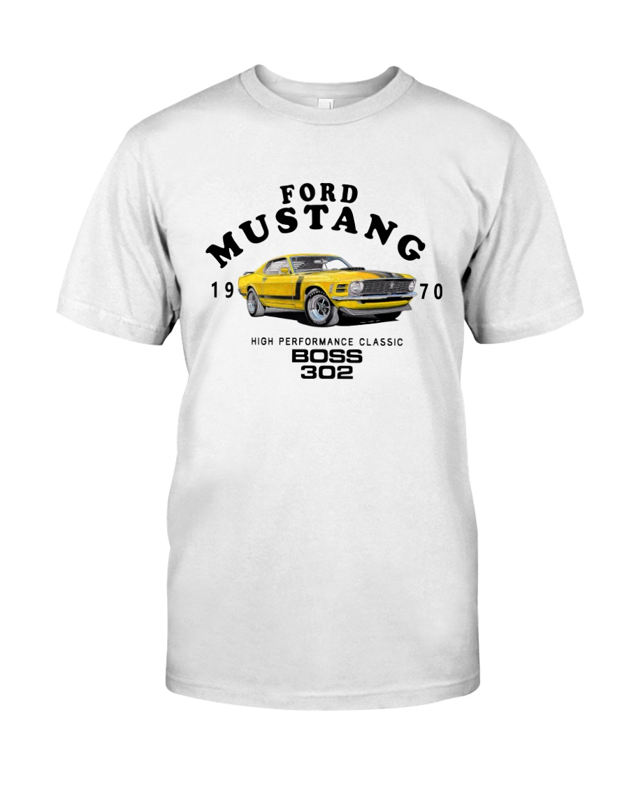 1970 Boss 302-Ford Classic Performance Muscle Car Classic T-Shirt