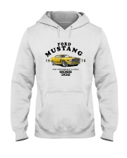 1970 Boss 302-Ford Classic Performance Muscle Car Hooded Sweatshirt thumbnail