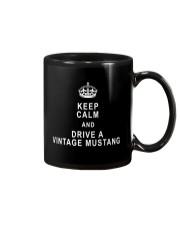 Keep Calm and Drive a Vintage Mustang - Ford Mug thumbnail