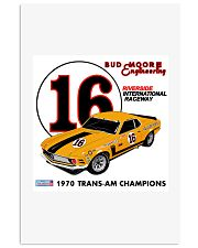 1970 Mustang Boss 302 Trans Am4 Vertical Poster tile