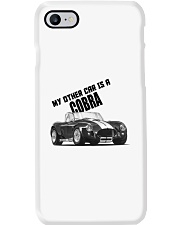 Ac Cobra - Vintage Ford car - Caroll Shelby-Racing Phone Case thumbnail