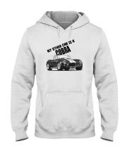 Ac Cobra - Vintage Ford car - Caroll Shelby-Racing Hooded Sweatshirt thumbnail