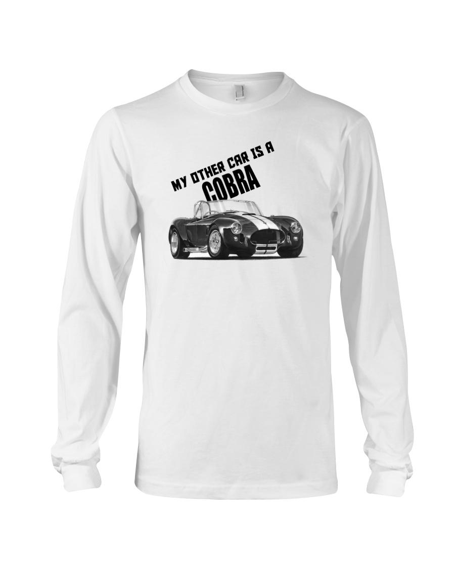 Ac Cobra - Vintage Ford car - Caroll Shelby-Racing Long Sleeve Tee