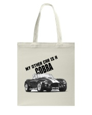 Ac Cobra - Vintage Ford car - Caroll Shelby-Racing Tote Bag tile