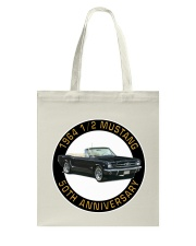 1964 Ford Mustang Convertible 50th Anniversary Tote Bag thumbnail