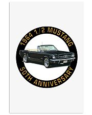 1964 Ford Mustang Convertible 50th Anniversary Vertical Poster tile