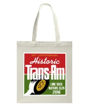 Historic Trans Am 50th Anniversary-SCCA-Lime Rock Tote Bag thumbnail