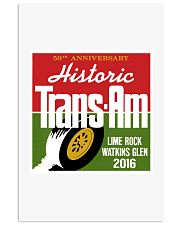 Historic Trans Am 50th Anniversary-SCCA-Lime Rock 11x17 Poster thumbnail