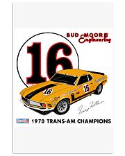 1970 Mustang Boss 302 Trans Am 2 Vertical Poster tile