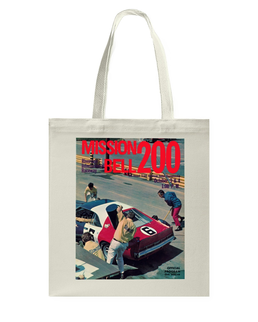 Riverside Raceway-Mission Bell 200 - SCCA Racing Tote Bag