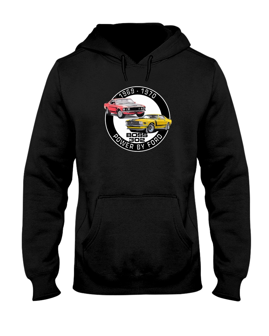 1969-1970 Mustang Boss 302 Hooded Sweatshirt