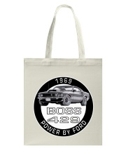 1969 Ford Mustang Boss 429 Tote Bag thumbnail