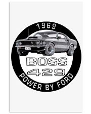 1969 Ford Mustang Boss 429 Vertical Poster tile