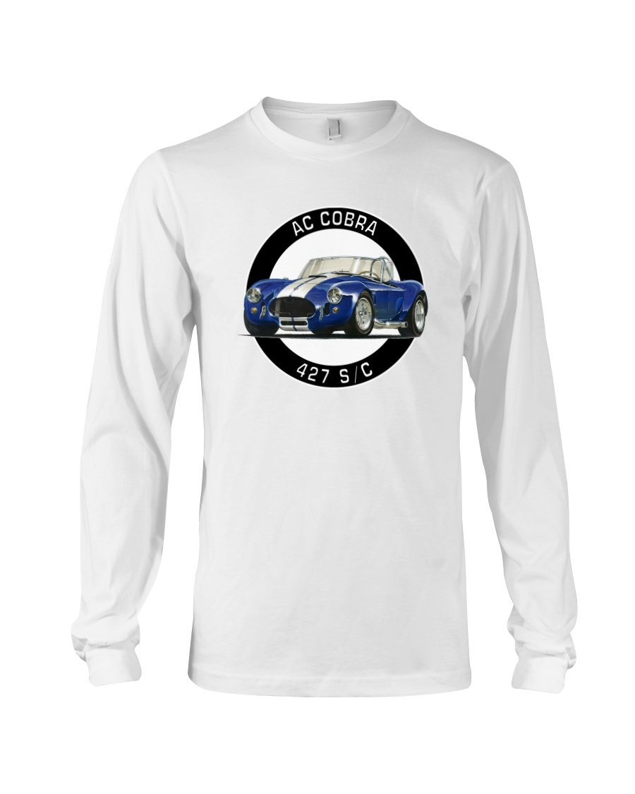 Ac Cobra 427 S C - Caroll Shelby-Racing Long Sleeve Tee