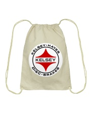 Kelsey Hayes Disc Brakes - SCCA - Racing Equipment Drawstring Bag thumbnail