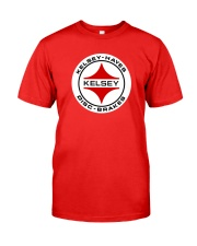 Kelsey Hayes Disc Brakes - SCCA - Racing Equipment Classic T-Shirt front