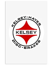 Kelsey Hayes Disc Brakes - SCCA - Racing Equipment 11x17 Poster thumbnail