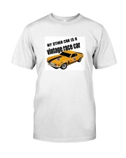 Boss 302 Trans Am Race car - SCCA - George Follmer Classic T-Shirt front