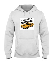 Boss 302 Trans Am Race car - SCCA - George Follmer Hooded Sweatshirt thumbnail